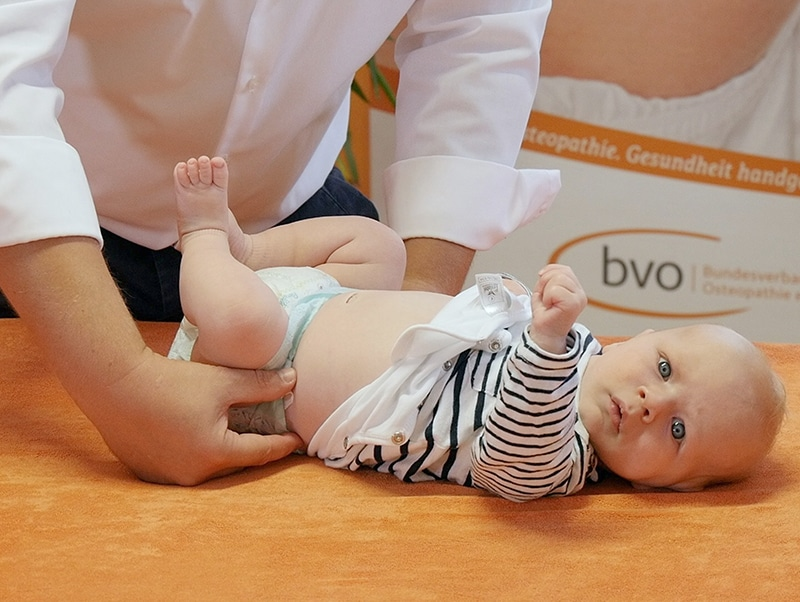 Osteopathie - Hilfe für Ihr Baby